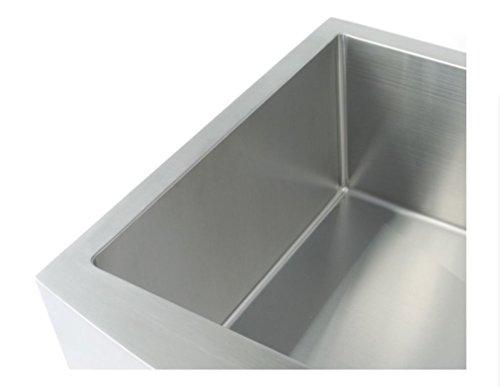 Starstar 35 Inch Undermount Farmhouse Apron Single Bowl 16 Gauge Stainless Steel Kitchen Sink 0 1