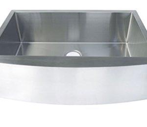 Starstar 35 Inch Undermount Farmhouse Apron Single Bowl 16 Gauge Stainless Steel Kitchen Sink 0 300x260