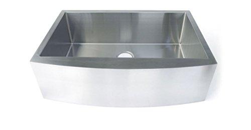 Starstar 35 Inch Undermount Farmhouse Apron Single Bowl 16 Gauge Stainless Steel Kitchen Sink 0