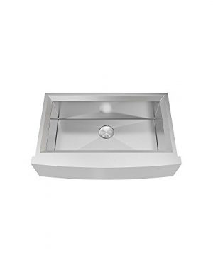 Transolid PUSSF362211 Studio Apron Front Kitchen Sink 355 In L X 22 In W X 11 In H Stainless Steel 0 0 300x360