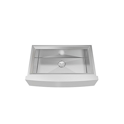 Transolid PUSSF362211 Studio Apron Front Kitchen Sink 355 In L X 22 In W X 11 In H Stainless Steel 0 0