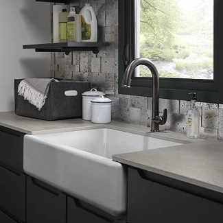 cast iron farmhouse sinks