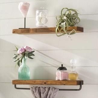farmhouse shelves