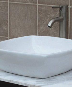 36 Bathroom Solid Wood Vanity Cabinet Black Granite Top Vessel Sink B3621WL BK 0 3 300x360