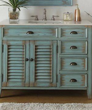 42 Benton Collection Distress Blue Abbeville Bathroom Sink Vanity CF 78888BU 0 0 300x360