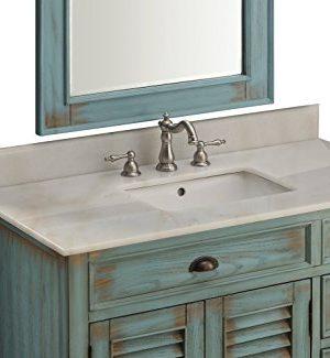 42 Benton Collection Distress Blue Abbeville Bathroom Sink Vanity CF 78888BU 0 2 300x325