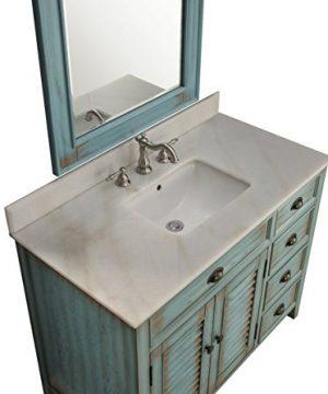 42 Benton Collection Distress Blue Abbeville Bathroom Sink Vanity CF 78888BU 0 3 300x360