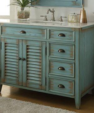 42 Benton Collection Distress Blue Abbeville Bathroom Sink Vanity CF 78888BU 0 4 300x360