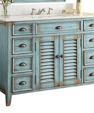 46 Cottage Look Abbeville Bathroom Sink Vanity Model CF28885BU 0 300x360