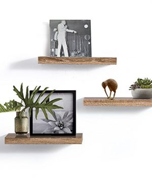 AHDECOR Floating Wall Mounted Shelves Set Of 3 Display Rustic Wood Ledge Shelves Wide Panel For Bedroom Office Kitchen Living Room 59 Deep 0 0 300x360