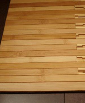 Anji Mountain Bamboo Chairmat Rug Co 2 Foot By 3 Foot Bamboo Kitchen And Bath Mat 0 1 300x360
