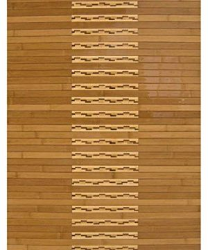 Anji Mountain Bamboo Chairmat Rug Co 2 Foot By 3 Foot Bamboo Kitchen And Bath Mat 0 300x360