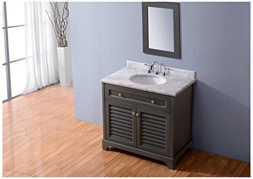 Ari Kitchen And Bath AKB MADI 36 MPGR Madison Vanity Set 36 Maple Grey 0 0