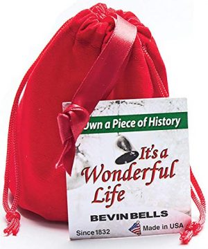 BEVIN BELLS Its A Wonderful Life Christmas Bell Authentic Silver Plated Ornament 0 0 300x360