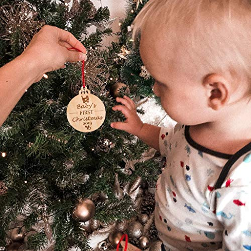 Babys First Christmas Ornaments Set Of 3 0 0