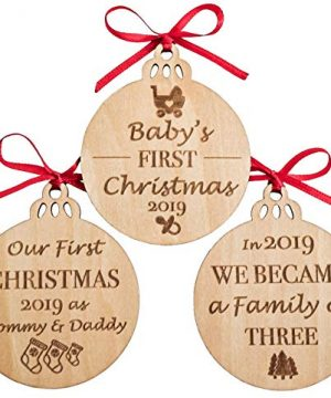 Babys First Christmas Ornaments Set Of 3 0 300x360