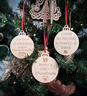 Babys First Christmas Ornaments Set Of 3 0 4 300x333