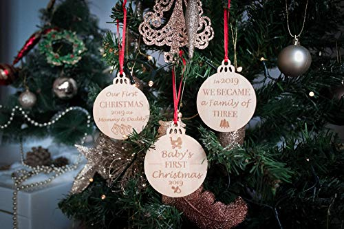 Babys First Christmas Ornaments Set Of 3 0 4