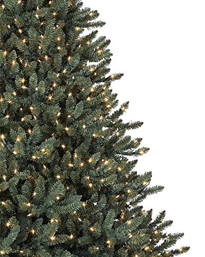 Balsam Hill Classic Blue Spruce Artificial Christmas Tree 45 Feet LED Clear Lights 0 0