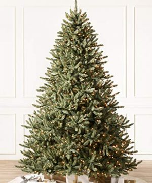 Balsam Hill Classic Blue Spruce Artificial Christmas Tree 45 Feet LED Clear Lights 0 3 300x360