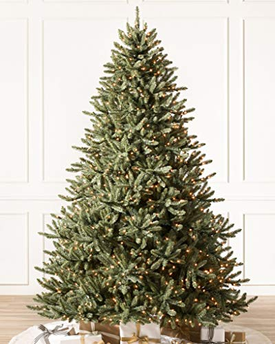 Balsam Hill Classic Blue Spruce Artificial Christmas Tree 45 Feet LED Clear Lights 0 3