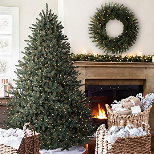 Balsam Hill Classic Blue Spruce Artificial Christmas Tree 45 Feet LED Clear Lights 0