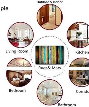Bath Rugs And Mats Color Striped Non Slip Absorbent Bathroom Mat Kitchen Runner Floor Mat Carpet 1 Piece 20 X 31 Inch 0 4 300x360