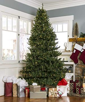 Best Choice Products 6ft Pre-Lit Hinged Douglas Full Fir ...