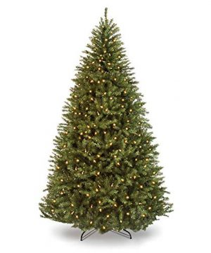 Best Choice Products 6ft Pre Lit Hinged Douglas Full Fir Artificial Christmas Tree Holiday Decoration W 1355 Branch Tips 450 Warm White Lights Easy Assembly Foldable Metal Stand Green 0 300x360