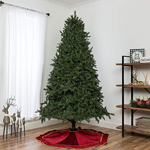 Best Choice Products 75ft Hinged Douglas Full Fir Artificial Christmas Tree Holiday Decoration W 2254 Branch Tips Easy Assembly Foldable Metal Stand Green 0 1