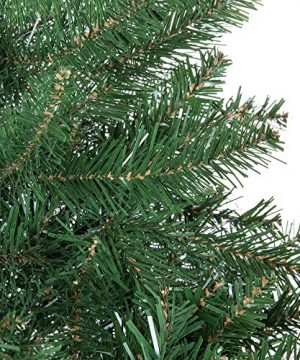 Best Choice Products 75ft Hinged Douglas Full Fir Artificial Christmas Tree Holiday Decoration W 2254 Branch Tips Easy Assembly Foldable Metal Stand Green 0 2 300x360