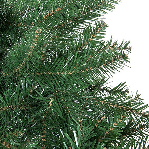 Best Choice Products 75ft Hinged Douglas Full Fir Artificial Christmas Tree Holiday Decoration W 2254 Branch Tips Easy Assembly Foldable Metal Stand Green 0 2