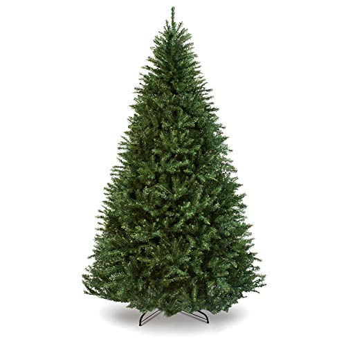 Best Choice Products 75ft Hinged Douglas Full Fir Artificial Christmas Tree Holiday Decoration W 2254 Branch Tips Easy Assembly Foldable Metal Stand Green 0