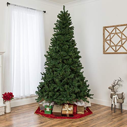 Best Choice Products 75ft Premium Spruce Hinged Artificial Christmas Tree W Easy Assembly Foldable Stand 0 1