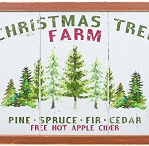 Carson Christmas Tree Farm Wood Wall Decor 0 300x294