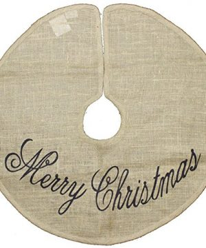 Christmas Burlap 24 Country Mini Tree Skirt 0 300x360