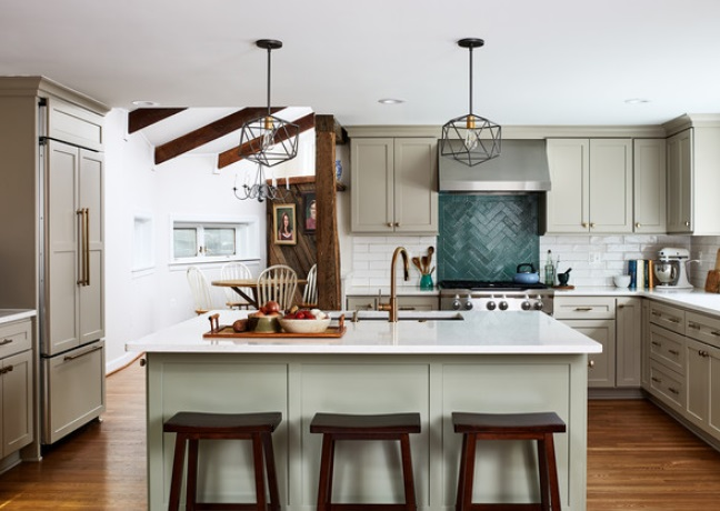 Cindy & Todds Kitchen by April Case Underwood