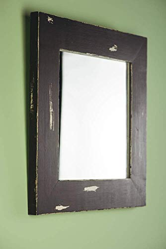 Decorative Wall Mirror For Rustic Decor By Woodenstuff Wood Framed Mirrors Reclaimed Woodwork Your Home Living Room Wooden Border In