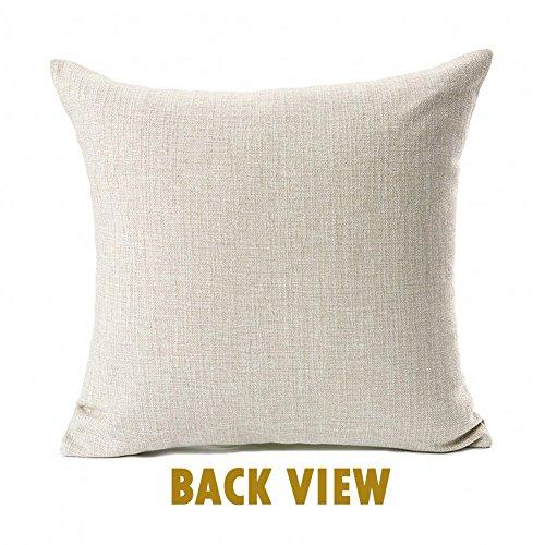 Dreaming White Christmas Throw Pillow Case Cushion Cover Decor Cotton Linen 18 X 18 0 0