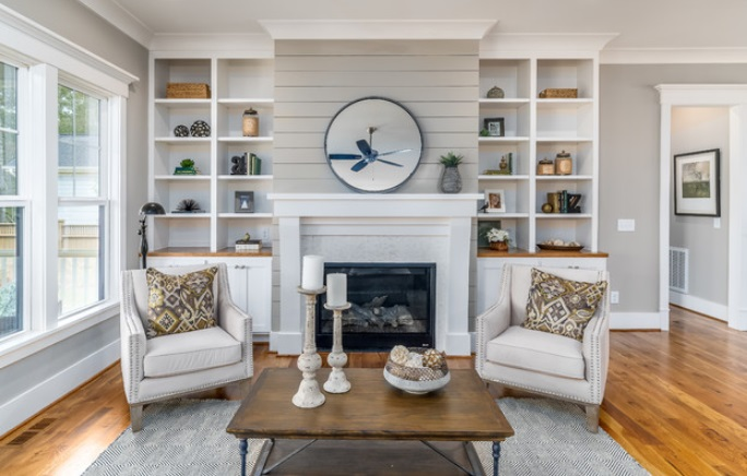 Family Room by Christopher Jones Photography