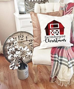 Farmhouse Christmas Pillow Cover 0 300x360