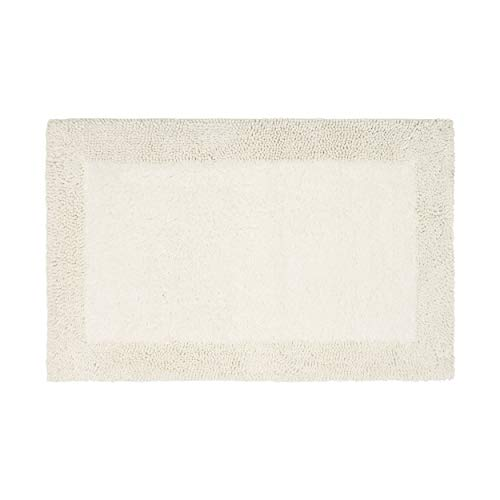 French Connection Bath Rugs 17 X 24 Ivory 0