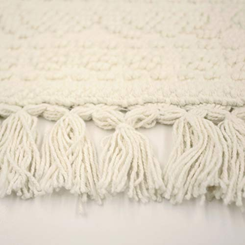 French Connection Bath Rugs 17 In X 24 In20 In X 34 In Ivory 0 0