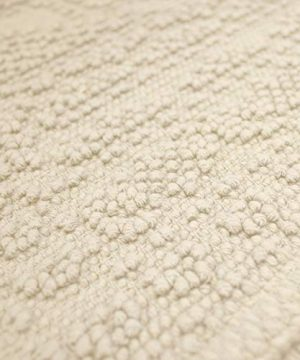 French Connection Bath Rugs 17 In X 24 In20 In X 34 In Ivory 0 1 300x360