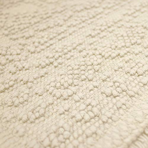 French Connection Bath Rugs 17 In X 24 In20 In X 34 In Ivory 0 1