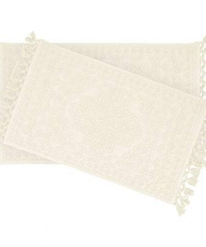 French Connection Bath Rugs 17 In X 24 In20 In X 34 In Ivory 0 300x360