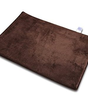 Garden Home Luxury Memory Foam Bath Rug 2 Pack 16x22 1 Pack 20X30 Brown 0 300x333