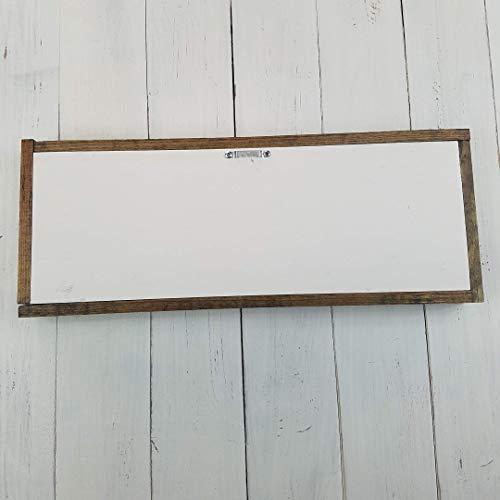 Get Naked Farmhouse Bathroom Decor Rustic Wood Sign 0 2