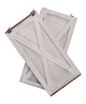 Glitzhome Washed White Wooden Tree Collar Tree Stand Cover Christmas Tree Skirt Tree Box 22 L 0 2 300x360