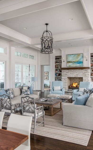 Great Room by Forte Building Group, LLC